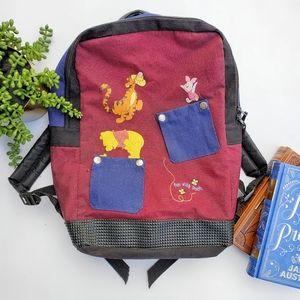 Vintage Retro Disney Winnie The Pooh Backpack